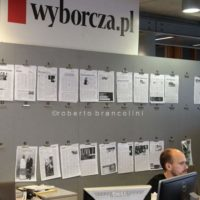 Gazeta Wyborzca is the most important newspaper in Poland, it is strongly critic with the right-wing and ultra-catholic governament appointed by president Andrzej Duda