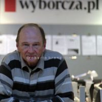 Gazeta Wyborzca is the most important newspaper in Poland, it is strongly critic with the right-wing and ultra-catholic governament appointed by president Andrzej Duda. in this photo the deputy editor Piotr Stasinski
